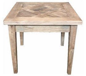 Casablanca Lamp Table Recycled Elm Timber
