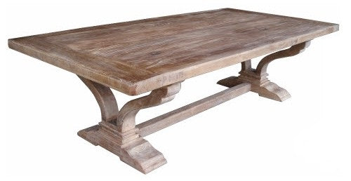 Victoria Coffee Table Recycled Elm Wood