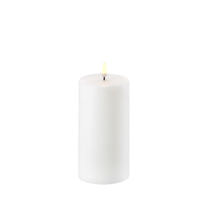 "Flameless Pillar Wax Candle 3""x 6"" - Cronulla Living"