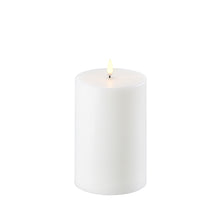"Load image into Gallery viewer, Flameless Pillar Smooth Wax Candle 4""x 6"" - Cronulla Living"