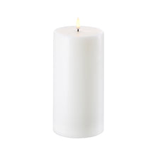 "Load image into Gallery viewer, Flamelass Pillar Wax Candle 4""x 8"" - Cronulla Living"