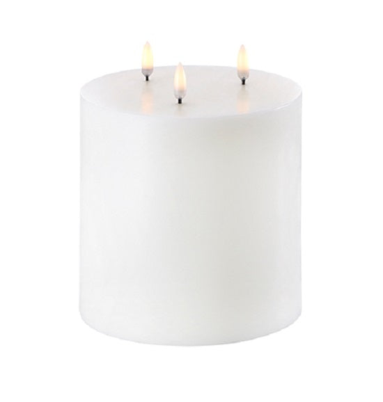 Flameless Pillar Wax Candle 6