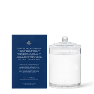 I'll Take Manhattan - Orchids & Blood Orange 380gr Soy Candle - Cronulla Living