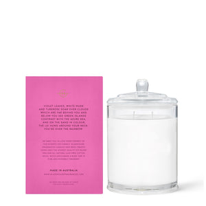 Over The Rainbow - Violet Leaves & White Musk 380gr Soy Candle - Cronulla Living