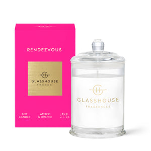 Rendezvous - Amber & Orchid 60gr Soy Candle - Cronulla Living