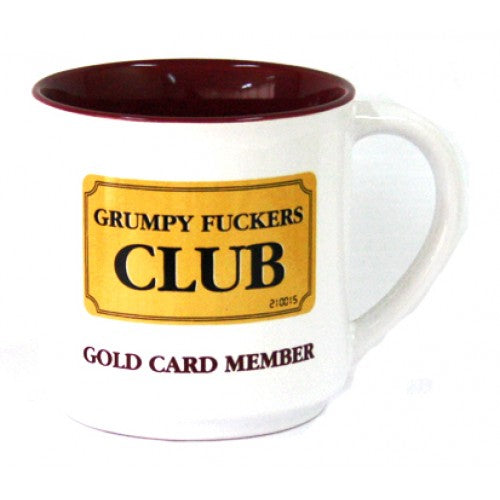 Grumpy Fuckers Club...Mug