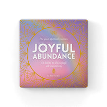 Load image into Gallery viewer, Joyful Abundance Cards to Encourage Self Awareness - Cronulla Living