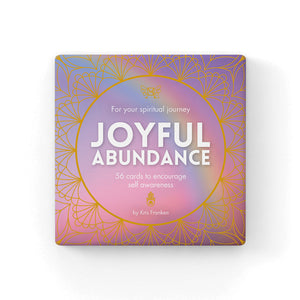 Joyful Abundance Cards to Encourage Self Awareness - Cronulla Living