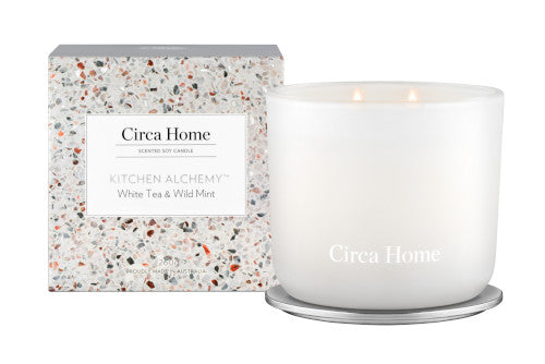 Kitchen Alchemy - White Tea & Wild Mint Candle