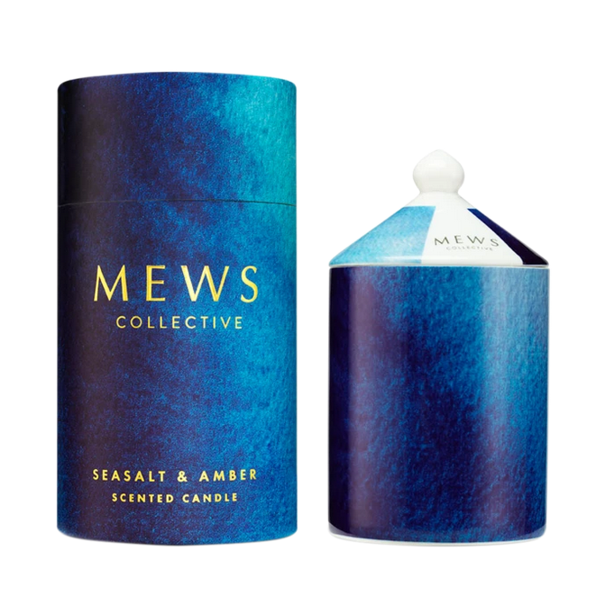 Mews Collective - Seasalt & Amber Scented Candle 320g