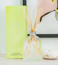 Load image into Gallery viewer, Peppermint Grove Lemongrass & Lime Mini 100ml Diffuser