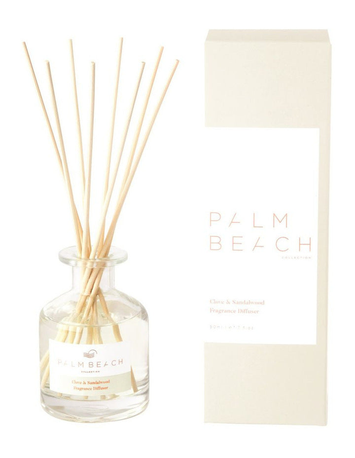 Palm Beach Mini Diffuser 50ml - Clove & Sandalwood