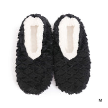 Load image into Gallery viewer, Sploshies - Women's Petals Black Non Slip Soft Slippers