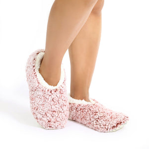 Sploshies - Snuggle Puff Rose Non Slip Slippers