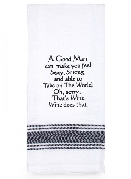 Tea Towel - A Good Man - Cronulla Living