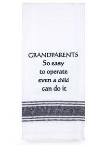 Tea Towel - Grandparents so easy to Operate - Cronulla Living
