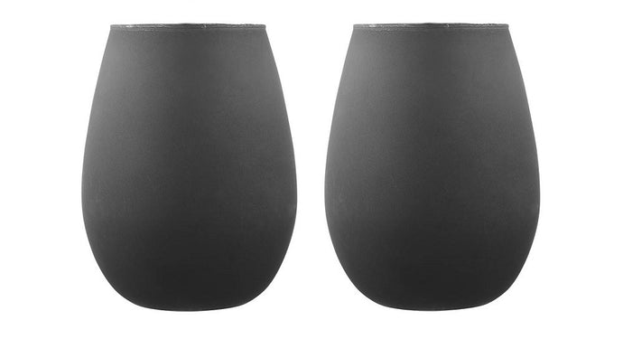 Tempa Aurora - Tumbler Set of 2 - Matte Black