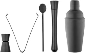 Tempa Aurora - Cocktail Set 5pc - Matte Black