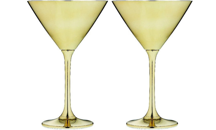 Tempa Aurora - Martini Glass Set of 2 - Gold
