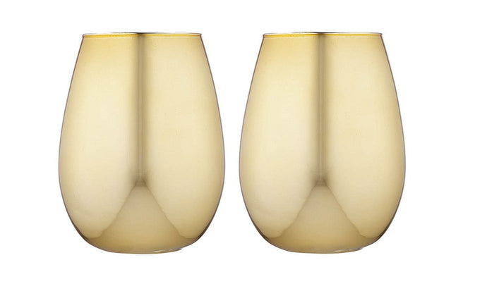 Tempa Aurora - Tumlber Set of 2 - Gold