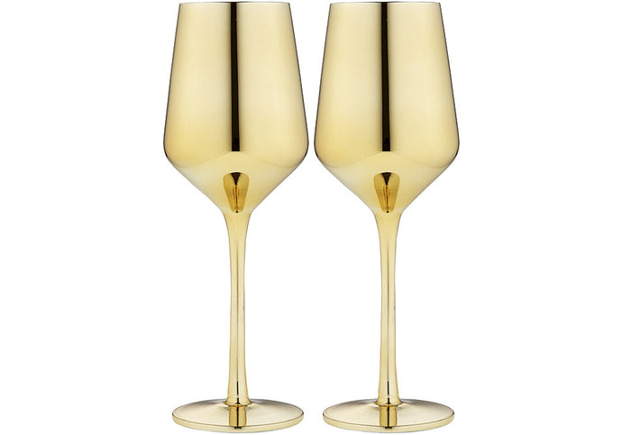 Tempa Aurora - Wine Glass Set of 2 - Gold