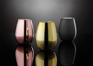 gifr boxed set of 2 rose gold tumbler glasses