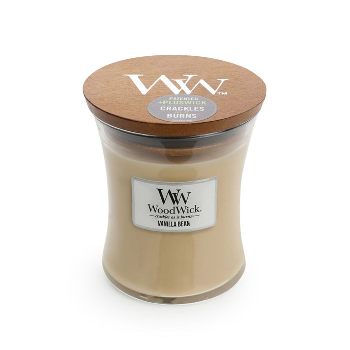 Woodwick candle - Vanilla Bean Medium