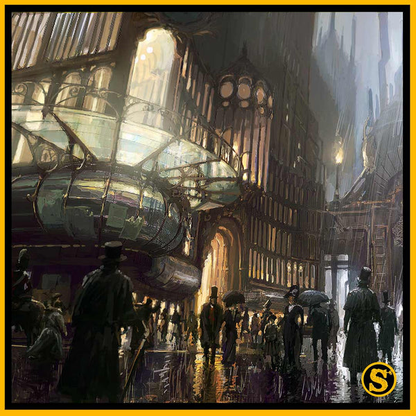 Univers steampunk