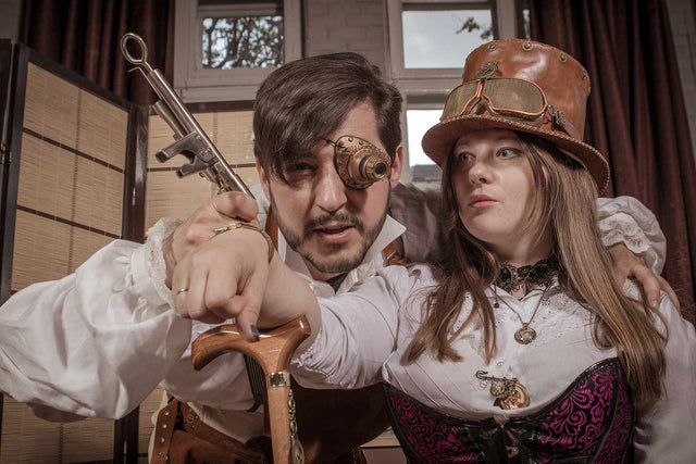 Couple Steampunk-Store
