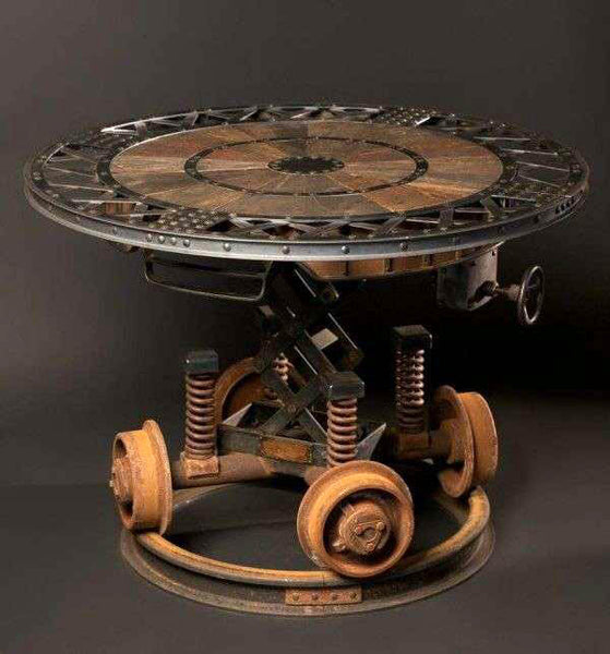 table victorienne steampunk