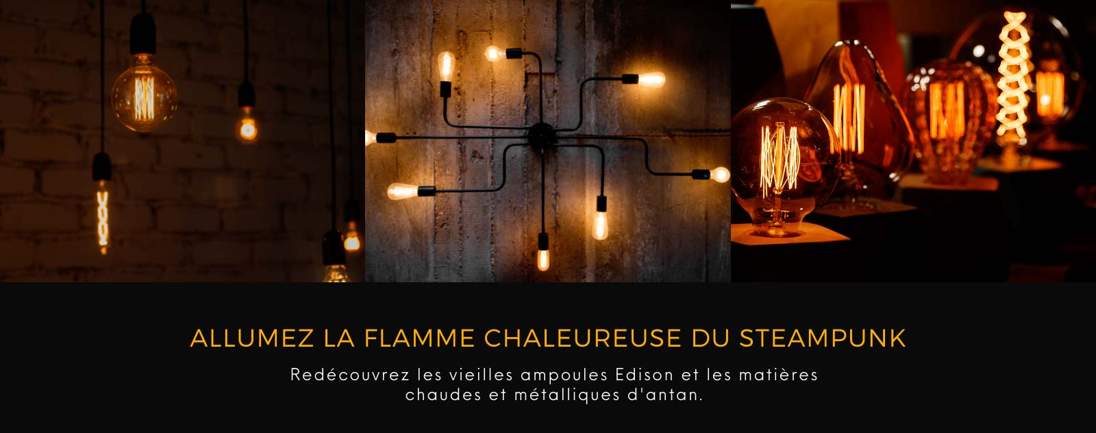 Lampes Steampunk