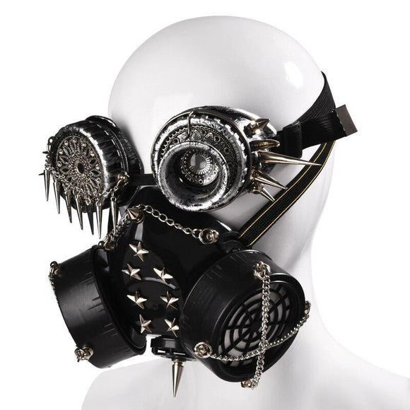 Masque Steampunk <br> Halloween Freak