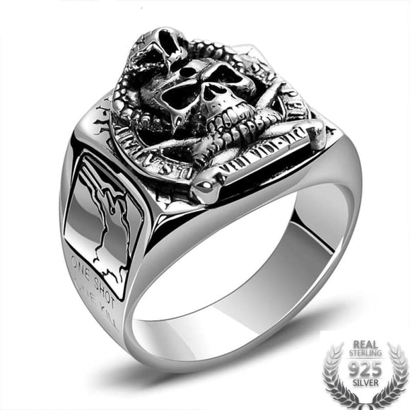 Bague Chevaliere US Army | Steampunk Store