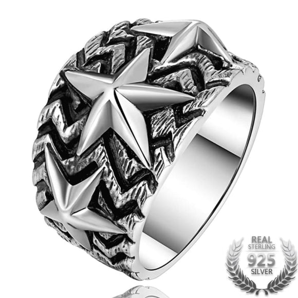 Bague Homme Argent Massif 925 | Steampunk Store
