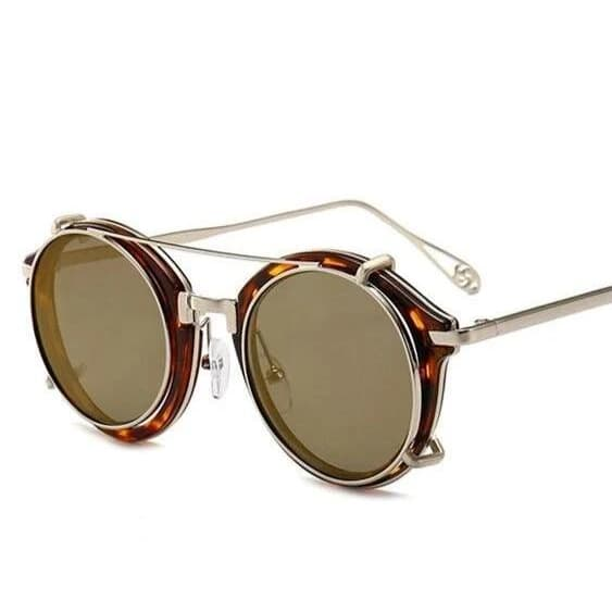 Lunettes Rondes Homme Style | Steampunk Store