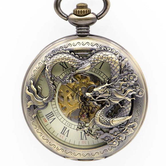 Montre Gousset Dragon