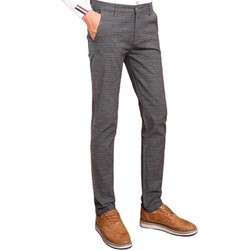 Pantalon Tweed Gris | Steampunk Store