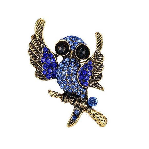 Broche Steampunk <br> Chant d' Oiseau