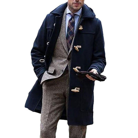 Manteau Long Homme Anglais