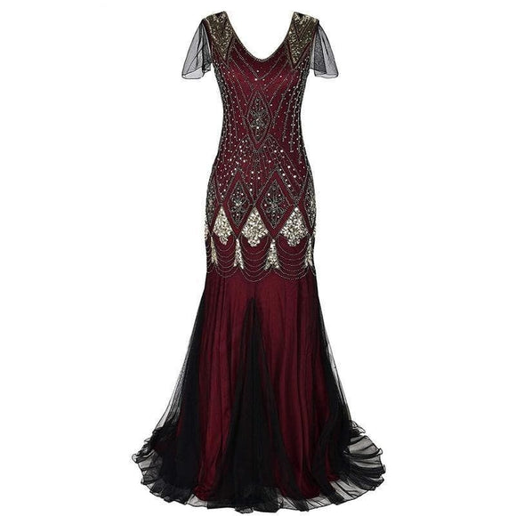 Robe Gothique Rouge | Steampunk Store