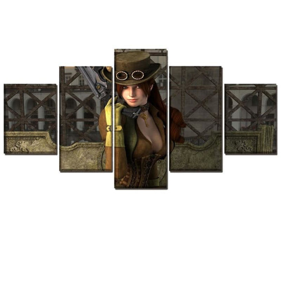 Steampunk Girl Art | Steampunk Store
