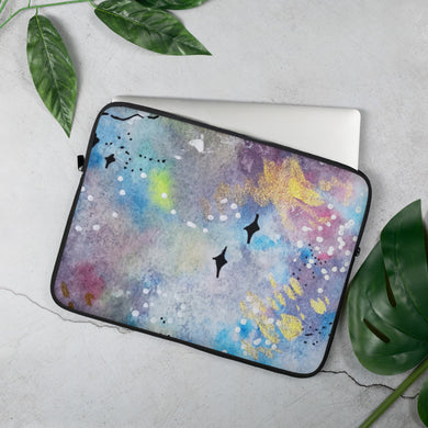 Laptop Sleeve Galaxy (Design by Rosie Gibson)