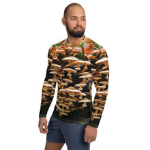 Load image into Gallery viewer, Men's Rash Guard Mushroom Man (Photography by Ben Hofijzer)
