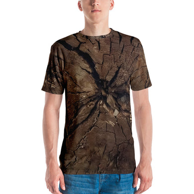Men's T-shirt Woodcut