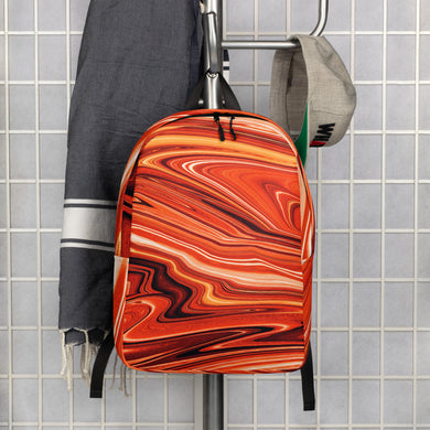 Stunning Suset Orange Backpack