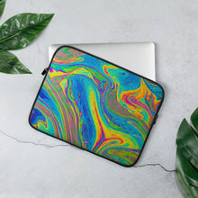 Load image into Gallery viewer, Laptop Sleeve Oil on Water