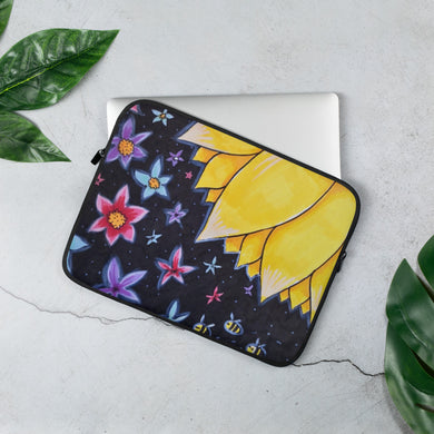 Laptop Sleeve Sunflower