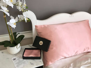 19 Momme Silk Pillowcase Made in New Zealand - ELITE SILK NEW ZEALAND