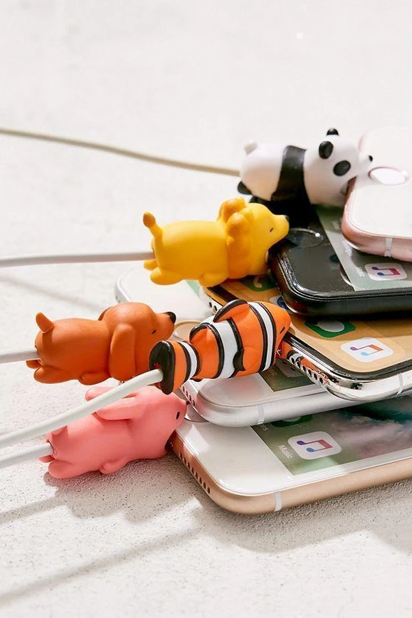 【🔥HOT SALE🔥 】The Cute Animal Cable Protector