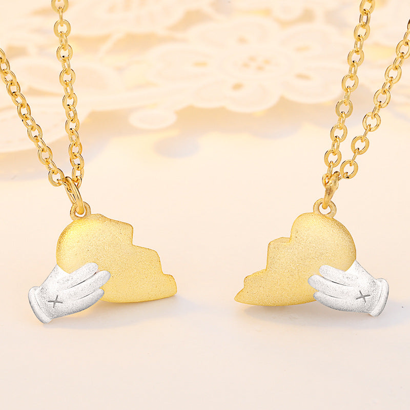 Heartbreak-Lovers necklace